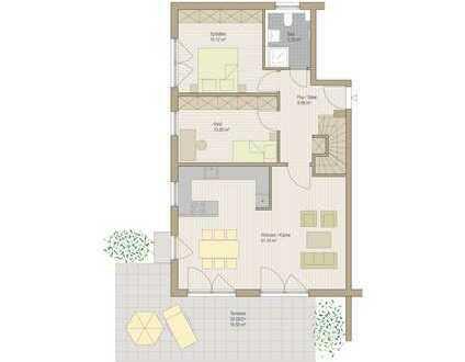 Excl. 5-6 Zimmer-Maisonette-Gartenwohnung Holzkirchen