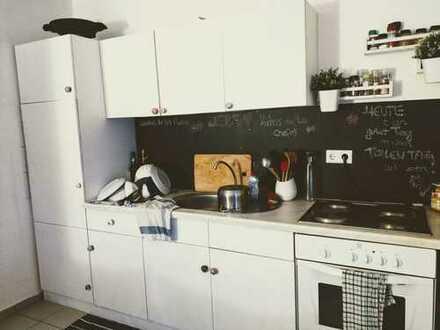 Klein-Winternheim, Neuwertige 2-Zimmer-Wohnung mit Balkon und EBK