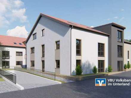 VBU Immobilien - NEUE MITTE Kleingartach - projektierte Neubauwohnungen
