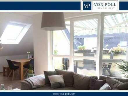 Kapitalanlage! Sonnige 3-Zimmer-Wohnung mit Dachterrasse in ruhiger Lage