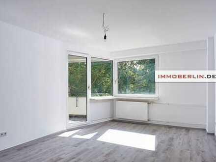 IMMOBERLIN: Topzustand! Helle Wohnung mit Südloggia