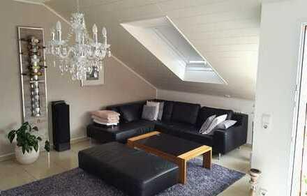 Gepflegte 4,5-Zimmer-DG-Wohnung mit Balkon und Einbauküche in Waldkirch/Kollnau