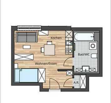 LEBEN AM TEGERNSEE!! 1 Zimmer- Wohnung