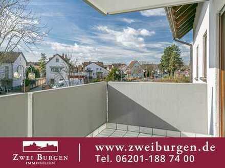Sonnige 2-Zimmer-Eigentumswohnung mit Balkon - Nord-Weststadt Viernheim