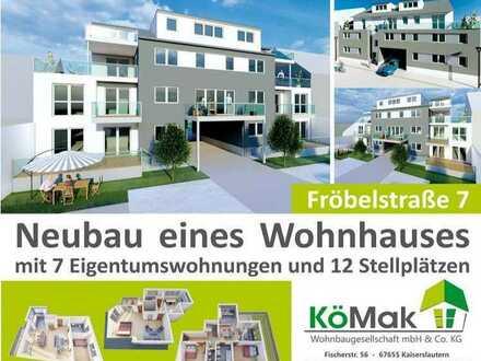 Neubau eines Mehrfamilienwohnhauses mit 7 Wohnungen in Top-Innenstadtlage 72,00m²-158,00m²