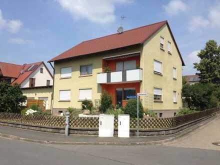 3 Zimmer Erdgeschoßwohnung mit Terrasse in Ühlfeld zu vermieten