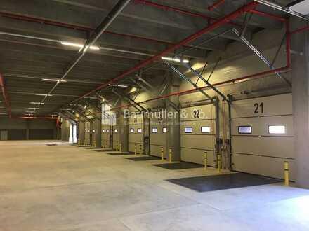 """BAUMÜLLER & CO."" - 10.000 m² Logistik-Neubau - Lagerhalle an BAB"