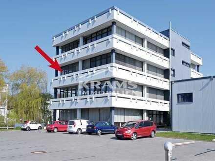 Klimatisierte Büroräume in einem modernisierten Geschäftsgebäude mit bis zu 12 Stellplätzen am Haus!