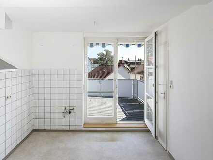 Gepflegte Maisonette-Wohnung mit vier Zimmern und Balkon in Rottweil