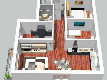 Gemütliche 4 Zimmer-Neubauwohnung im 1. OG