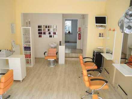 PF-Weststadt (zentrumsnah), Ladenlokal - mit minimaler Investition einsatzbereiter Friseursalon