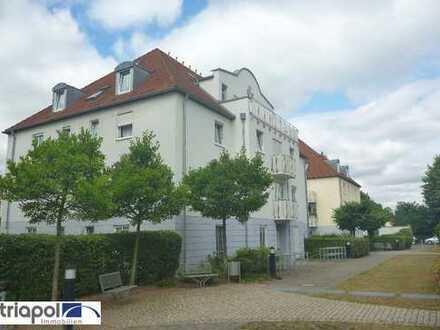 Ruhig gelegene Erdgeschosswohnung mit Terrasse und Laminatboden in Coswig.