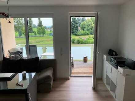 Neuwertige 2-Zimmer-Wohnung mit Balkon in Dietmannsried