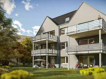 4 Zimmer Maisonette Wohnung mit Balkon in Metzingen Stadtmitte - bereits im Bau