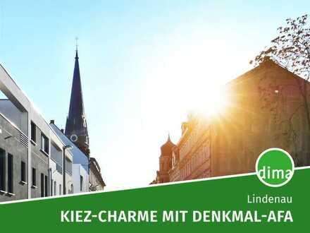 SANIERUNG mit DENKMAL-AFA | Durchdachte 1-Raum-Wohnung mit Balkon an separater Küche, Keller u.v.m.