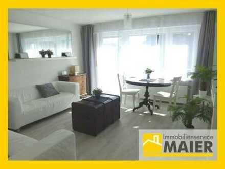 S-Stammheim - Sonnige 2-Zimmer-Wohnung mit 2 Balkonen – möbliert!