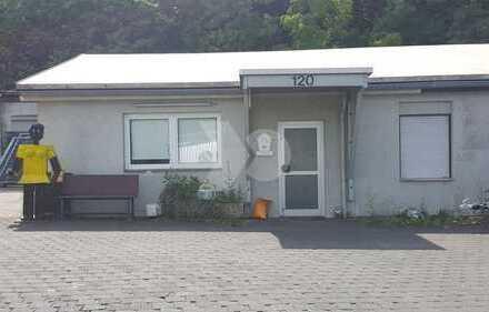 Büro mit kleiner Lagerhalle Nähe Hafengebiet