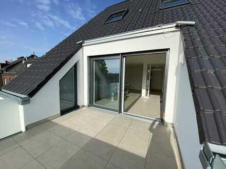 Erstbezug: stilvolle 5-Zimmer-Penthouse-Wohnung mit großer Dachterrasse in Südlage