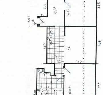 Günstige, gepflegte 2-Zimmer-Dachgeschosswohnung in Krefeld