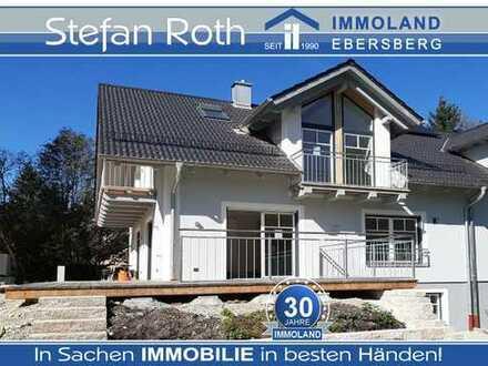 Modern, geräumig und inmitten der Natur: Neubau-Doppelhaushälfte im Landschaftsschutzgebiet