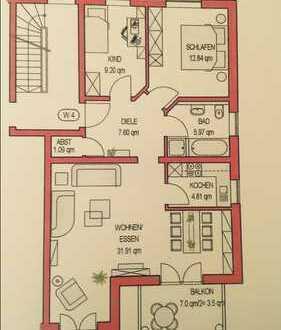 820 €, 76 m², 3 Zimmer