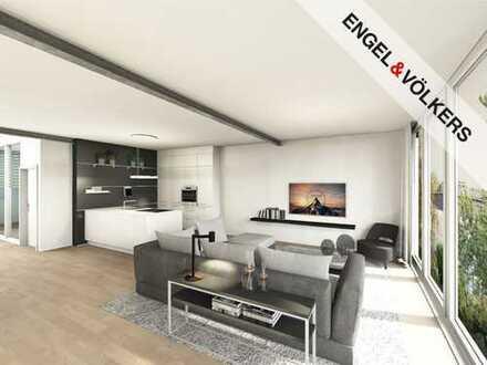 Hochwertig möblierte Wohnung mit Dachterrasse