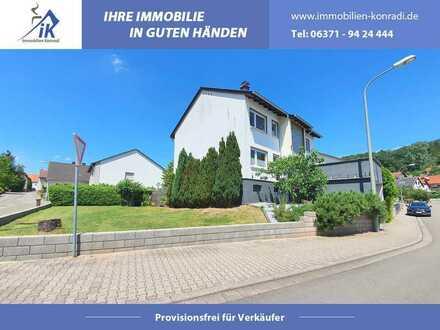 IK | Erzenhausen: Gepflegtes Ein-Zweifamilienhaus mit Garten und 2 Garagen