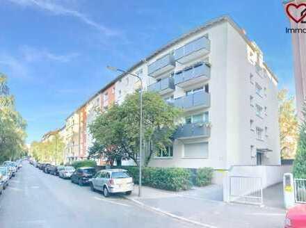 Nahe neuer ECB!   ERSTBEZUG NACH SANIERUNG   1-Zimmer-Luxus-Wohnung in Toplage!