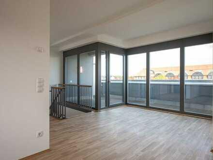 Ihr Besuch wird staunen! - Erstbezug in eine moderne 4-Raum-Maisonette im Loft-Stil