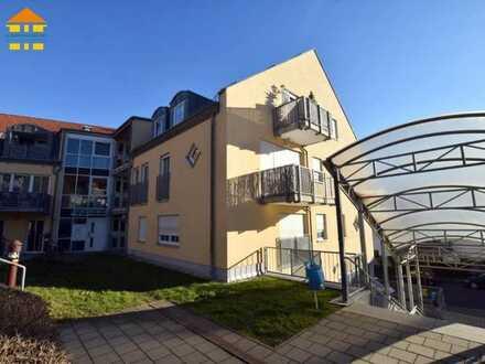 Moderne 3-Raum-Wohnung in ländlicher Lage mit Balkon zur Kapitalanlage!