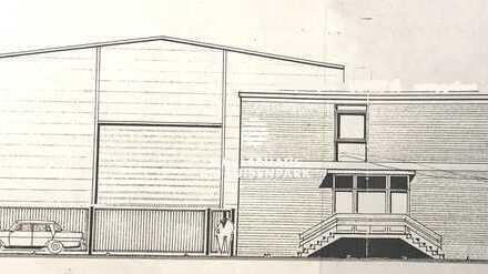 Fertigungs-und Lagerhalle mit Krananlage und Bürogebäude