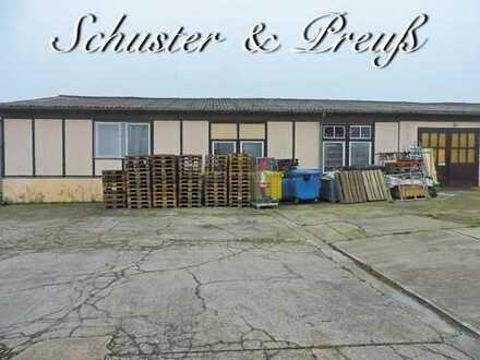 Schuster & Preuß - an der Bundesstraße 167 - Wandlitz / Zerpenschleuse - ca. 270 m² Lagerhalle ca...