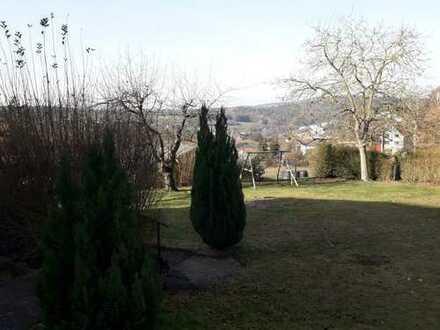 Helle 4-Zimmer-Hochparterre-Wohnung in Höhenlage mit Panoramablick in Lützelbach
