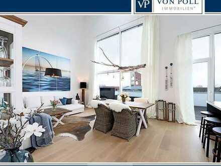 Luxuriöse Penthousewohnung mit zwei traumhaften, sonnigen Dachterrassen!