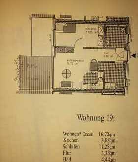 Seniorengerechte 2,5-Zimmer-Wohnung mit Balkon und EBK in Hamminkeln