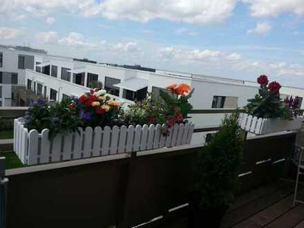 Stilvolle, neuwertige 2-Zimmer-Wohnung mit Balkon und EBK in Heidelberg/Bahnstadt