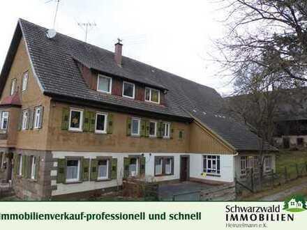 Historisches Anwesen mit 8239 m² Grundstück in 72172 Sulz-TO