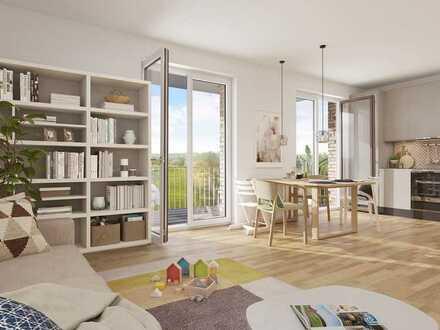 Kompakte 2-Zimmer-Wohnung mit Balkon und barrierefreier Nutzung
