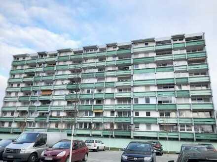 Kapitalanlage oder Selbstbezug: Vermietete 2-Zimmer-Wohnung mit Balkon in Campus Nähe