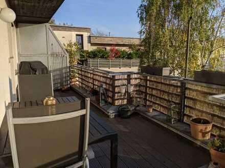 ++Dachgeschosswohnung mit großer Dachterrasse++WBS erforderlich++