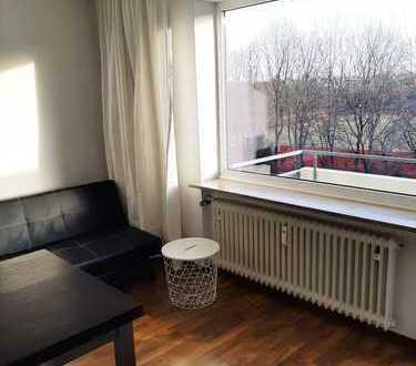 Sehr helle vollmöblierte 1-Zimmer Wohnung / furnished 1room apt.