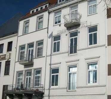 Zentrales 2 Zimmer Büro mit Weserblick