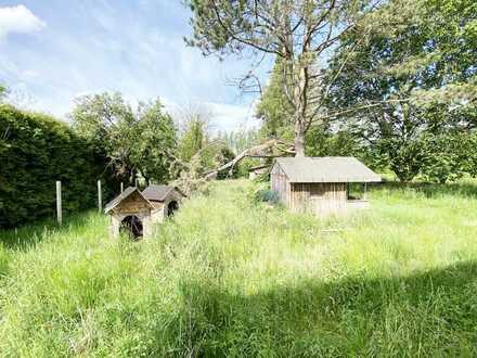 Ländliches Wohnen auf einem einzigartigen Grundstück