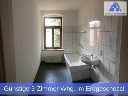 ** Großzügig geschnittene 3-Raum Wohnung mit modernem Badezimmer zum günstigen Preis ab sofort! **