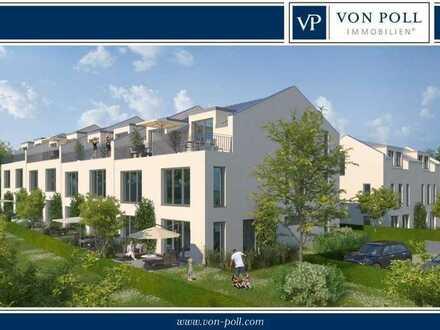 Sonnen-Grundstück in privater, grüner Naturlage mit vorliegender Baugenehmigung für 8 RH und 2 DHH