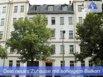 Achtung! - Deine neue 2-Zimmer Wohnung in Hilbersdorf mit sonnigem Balkon und geschicktem Grundriss