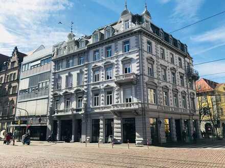 1 Zimmer in 3/4er WG in traumhaft kernsaniertem Altbaugebäude in FREIBURG CITY ALTSTADT