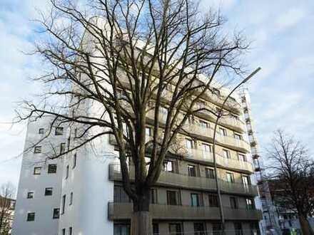 Erstbezug: Stilvolle 1-Zi.Whg, 47 m² mit EBK, Eichenparkett, Balkon, Fahrstuhl