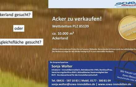 Ackerland zum bewirtschaften oder als Ausgleichsfläche - gegen Gebot - Ihre Immobilien Experten: ...