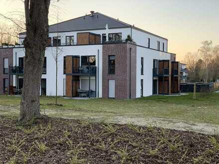 Neubau - Neuwertige 1-Raum-Wohnung mit Terrasse und Einbauküche in Peine (barrierefrei)